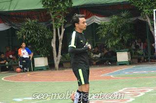 Foto Yusuf Mahardika ketika bermain sepakbola