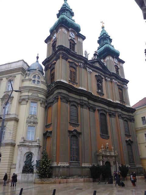 église de l'université Budapest Hongrie