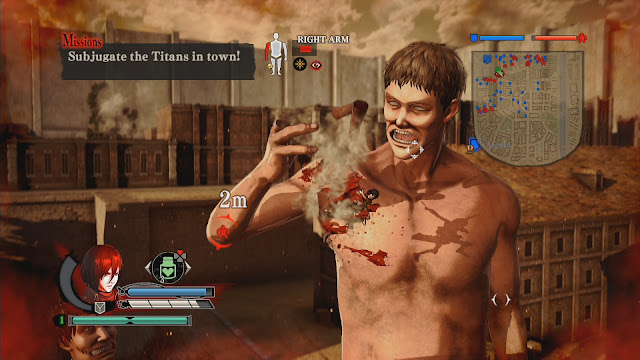 Attack on Titan Wings of Freedom PC Download Full Gameplay 1