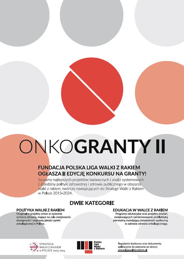 Onkogranty II: Walka z rakiem lokalnie i globalnie - plakat