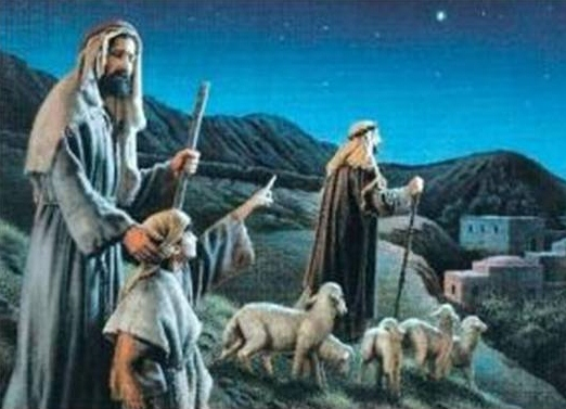 The Christmas Shepherd.Sowing The Seeds The Christmas Shepherds