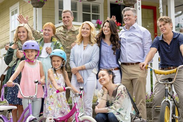família obrien seriado chesapeake shores