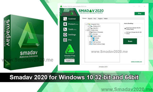 Smadav 2020 for Windows 10 32-bit and 64bit