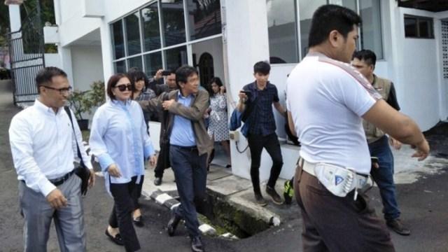 VAP Kembali Di Periksa Kejati Sulut, Terkait Kasus Dugaan Korupsi Pemecah Ombak