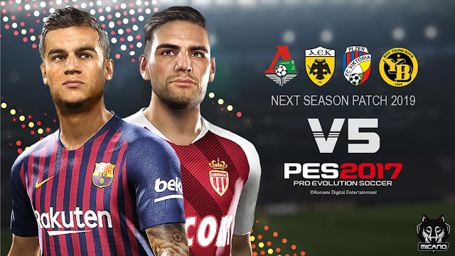 PES 2017 Next Season Patch 2019 Update v5 0 AIO