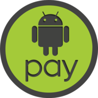 android pay icon outline