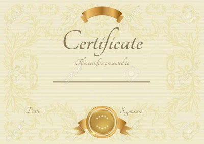 Blank Certificate Of Completion Template Dfaqo
