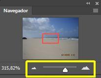 Deslizador en la Paleta Navegador en Photoshop