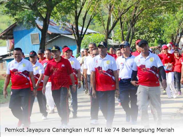 Pemkot Jayapura Canangkan HUT RI ke 74 Berlangsung Meriah