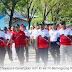 Pencanangan HUT RI ke 74 - Kota Jayapura di Pasar Yotefa Berlangsung Meriah