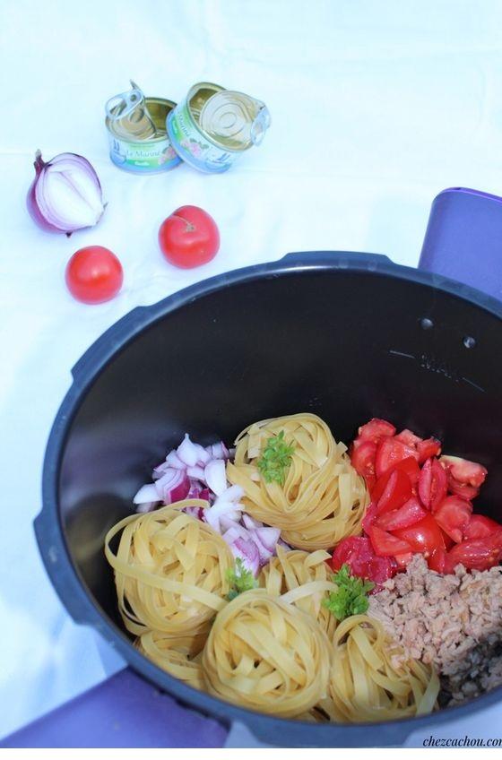 One Pot Pasta Thon Et Tomates Avec Ou Sans Cookeo