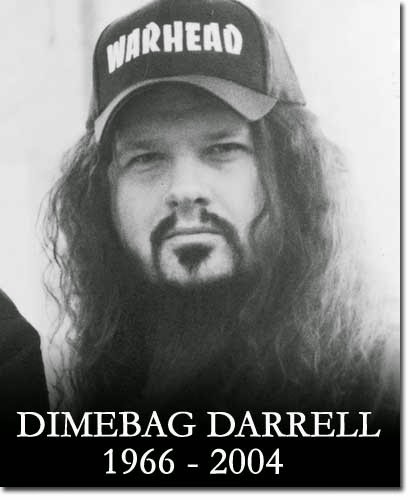 RIP Dimebag Darrell rest in peace