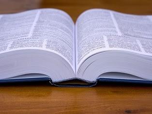 libro d'inglese aperto