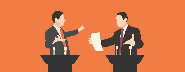 Resultado de imagem para debate politico