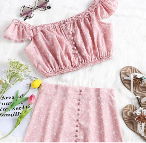 Zaful pretty in pink wishlist.