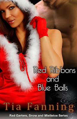 Red Ribbons and Blue Balls by Tia Fanning.