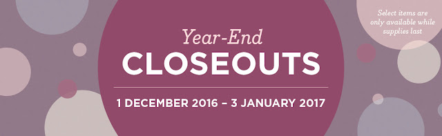 Year End Closeouts - Stampin' Up!