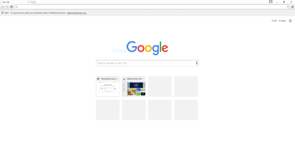 Google Chrome browser testing a new feature