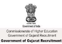 Commissioner Higher Education – Government of Gujarat Recruitment 2016