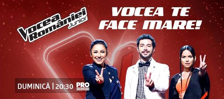 Vocea Romaniei junior sezonul 1 episodul 5