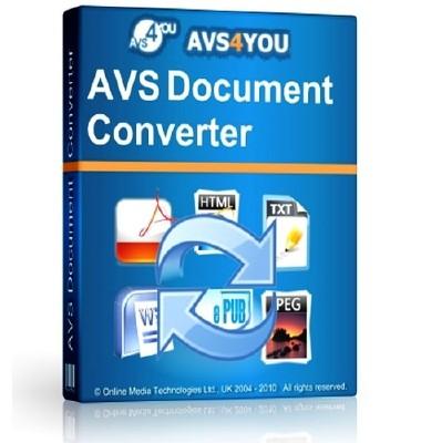 Resultado de imagen para AVS Document Converter 4