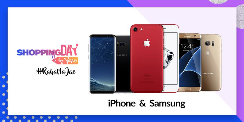 iPhone 7 Red, Samsung Galaxy S8 and Samsung Galaxy S7 Edge on our Online Shelves