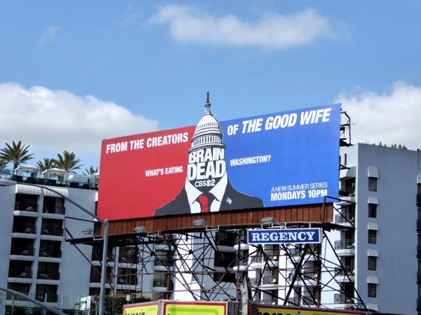 BrainDead season 1 billboard