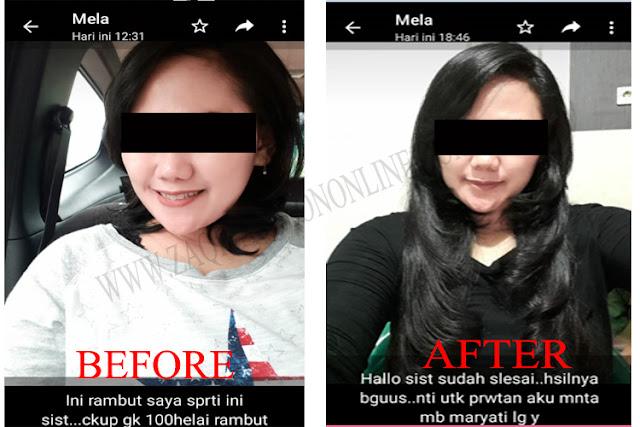 Tetap eksis dan trendy dengan Hair extension
