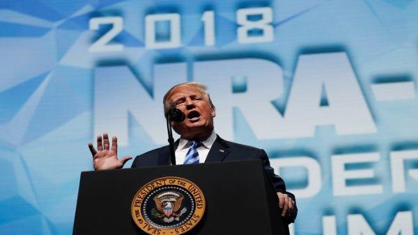 Donald Trump reafirma respaldo al porte de armas en EE.UU.