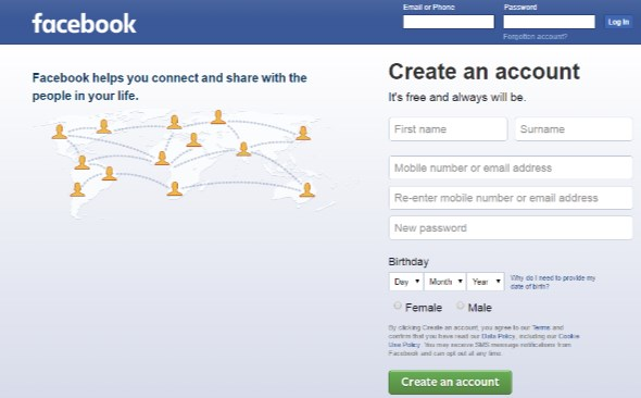 Facebook Login Sign Up Or Learn More