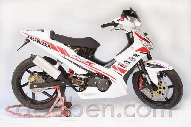 Motor Honda Supra X 125 Terbaru 2014 Llll