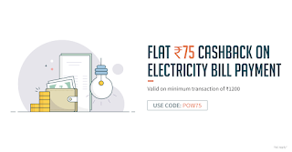 Freecharge Electricity Bill Discount Coupon