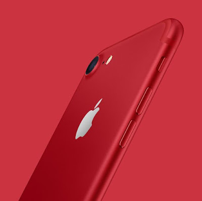 2017 Apple luncurkan iPhone 7/7 Plus Red