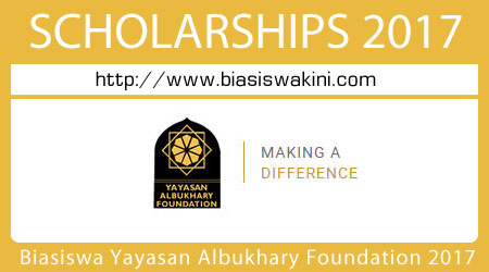 Biasiswa Yayasan Albukhary Foundation 2017