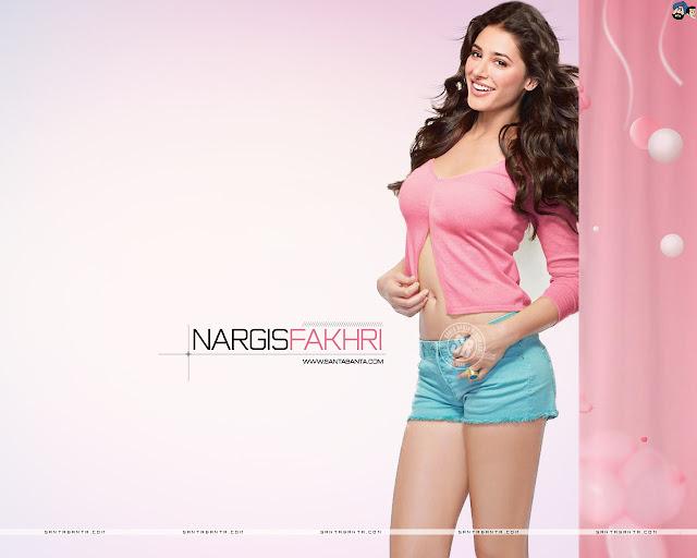 Nargis Fakhri sexy Wallpaper