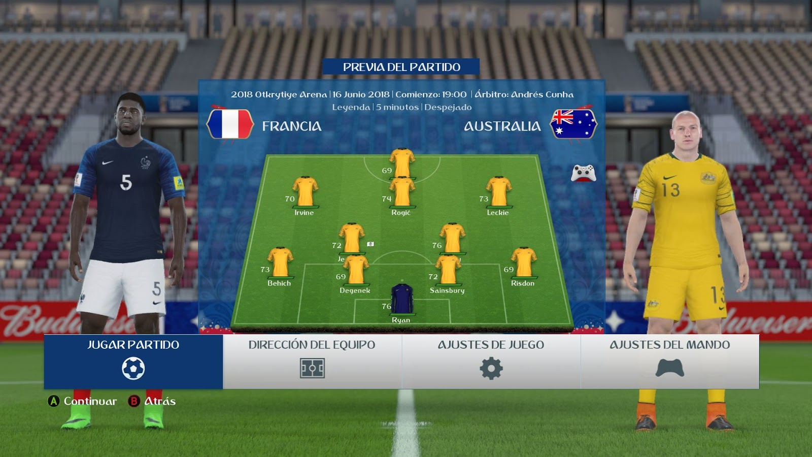 FIFA 16 ModdingWay Mod Update 28 0 4 World Cup 2018 Edition
