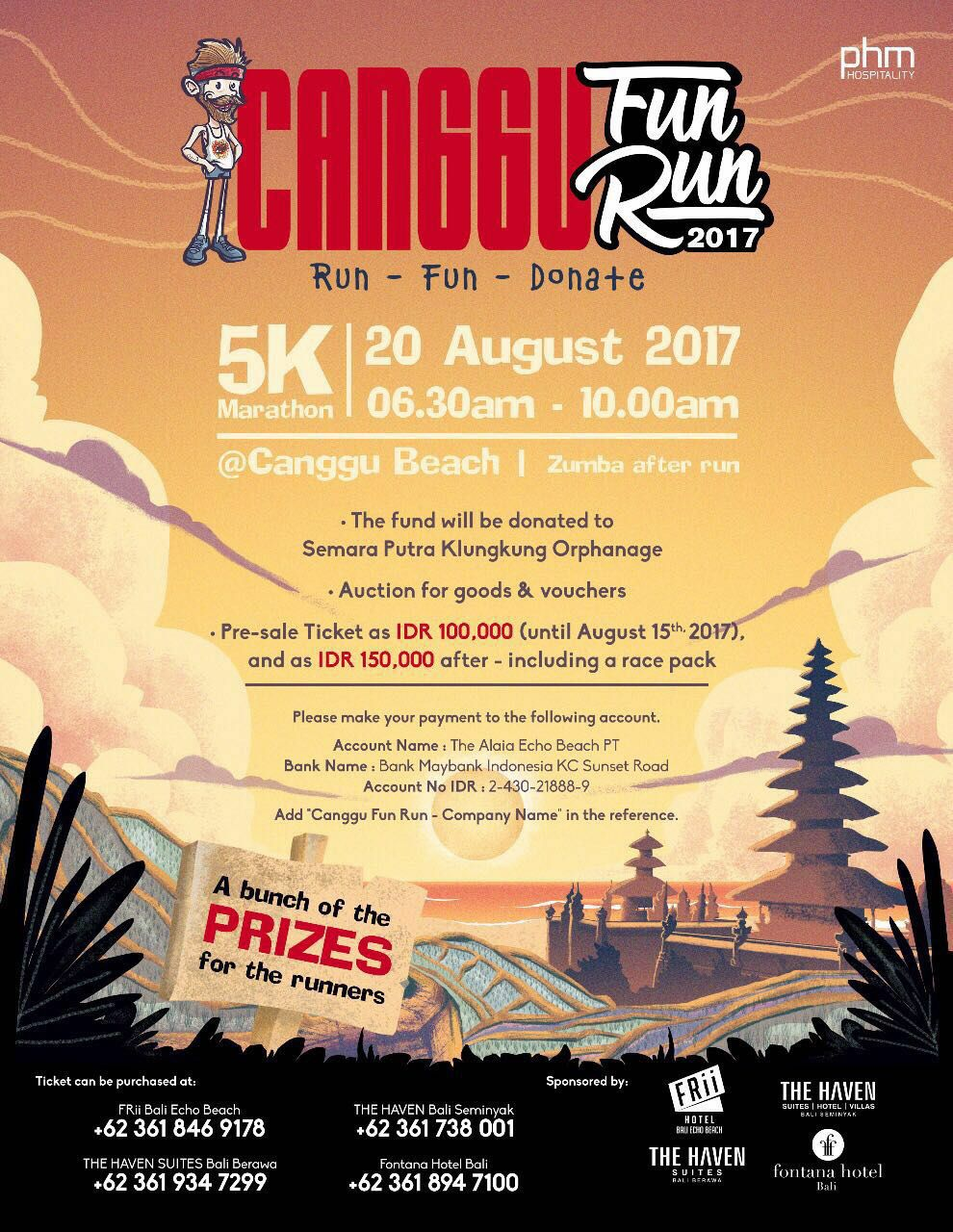 Canggu Fun Run • 2017