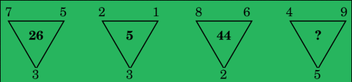 Triangle Number Puzzle
