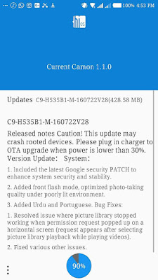 update for tecno c9