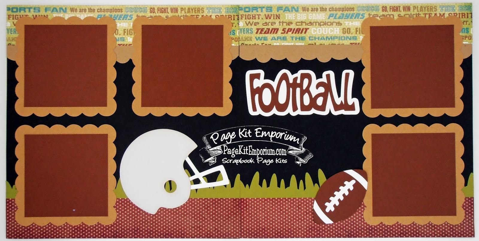 football scrapbook www
