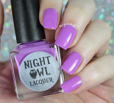 Night Owl Lacquer Believe | Light & Bright Neon Creams