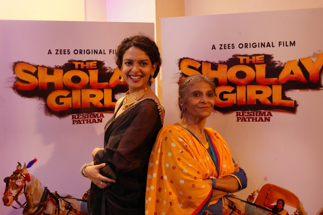 Bidita Bag with Reshma Khan, Premiere, The Orginal Sholay Girl