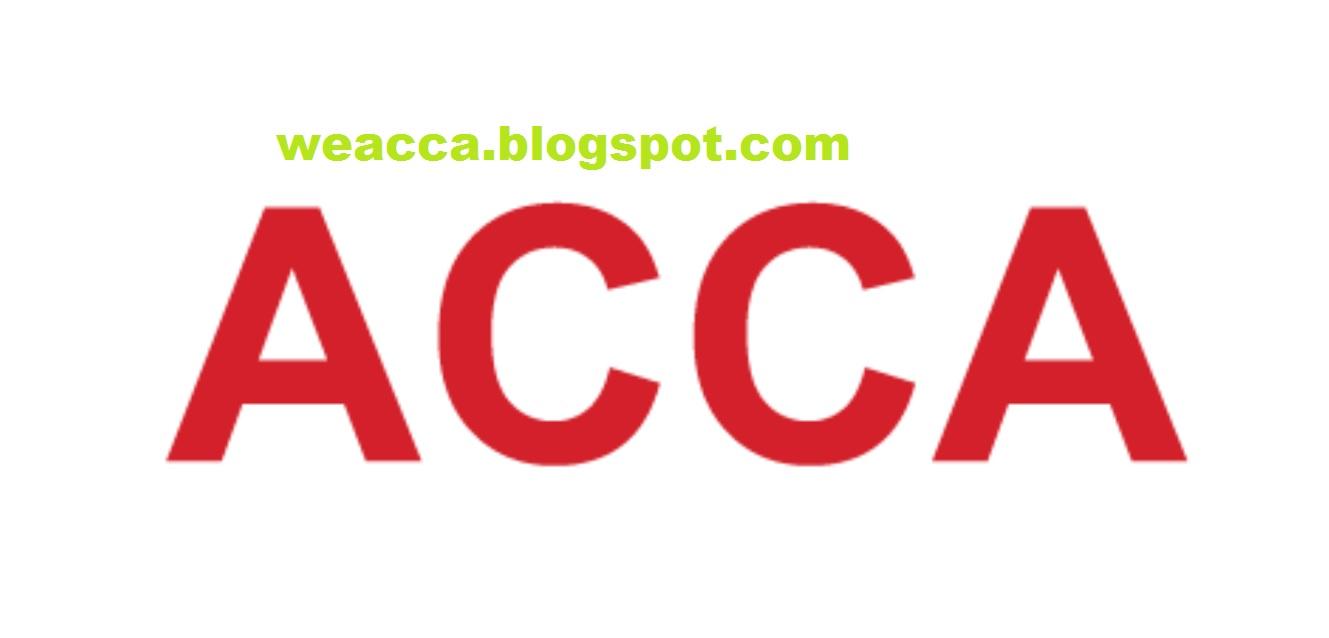 CAT - ACCA - CA - CIMA