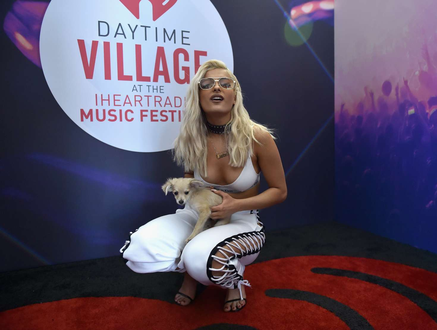 Bebe Rexha Performs at 2016 iHeartRadio Music Festival