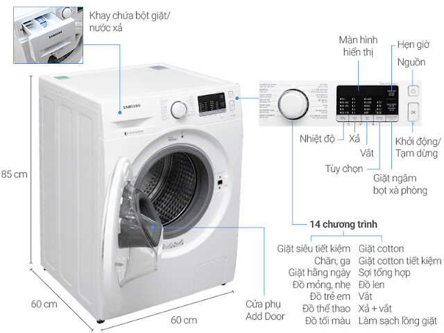 Sửa Máy Giặt Samsung Báo Lỗi 3E