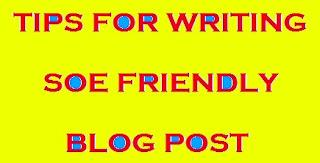 Cara Membuat Blog SOE Friendly yang Tepat dan Mudah