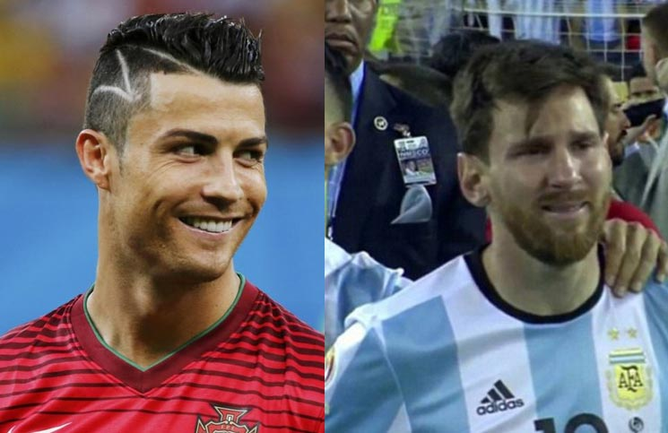 2017 Ballon d'Or: Messi cries as Ronaldo wins Ballon d'Or
