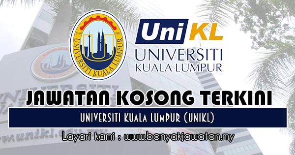 Jawatan Kosong 2018 di Universiti Kuala Lumpur (UniKL)