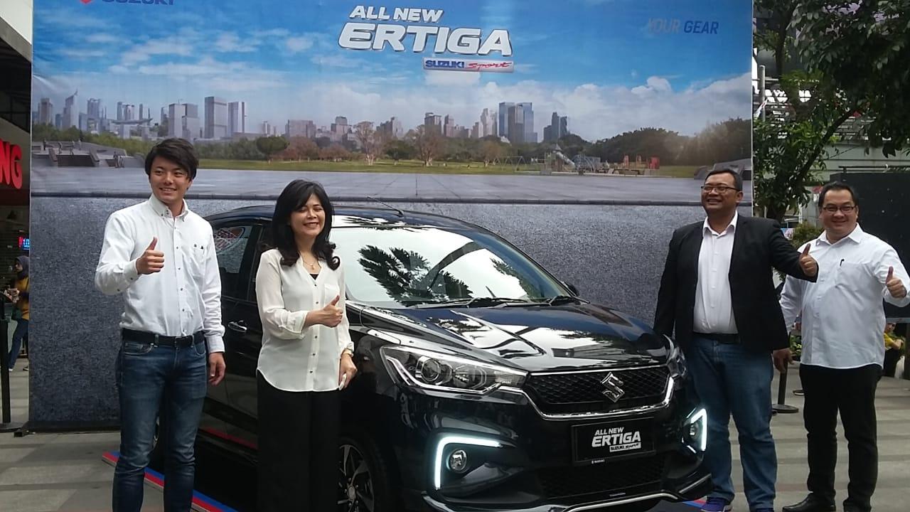 Menyusul Jakarta, All New Ertiga Suzuki Sport Mengaspal di Bandung
