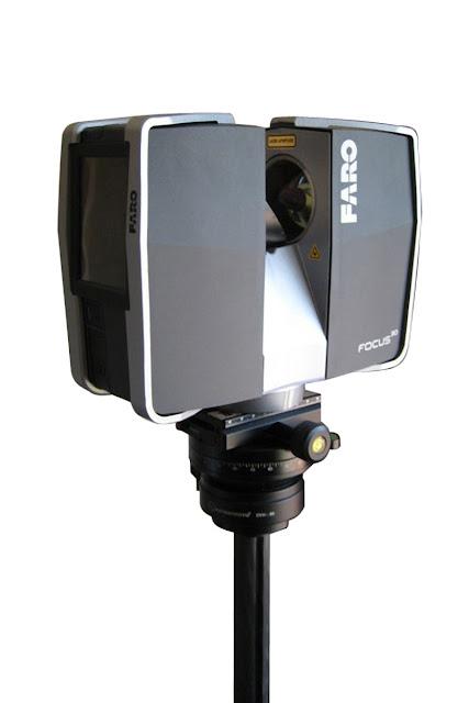 FARO Focus 3D scanner on Sunwayfoto DYH-90R